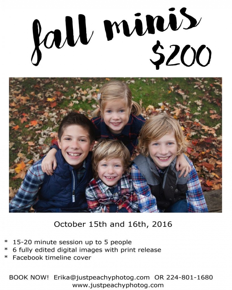 fall mini sessions 2016 ad